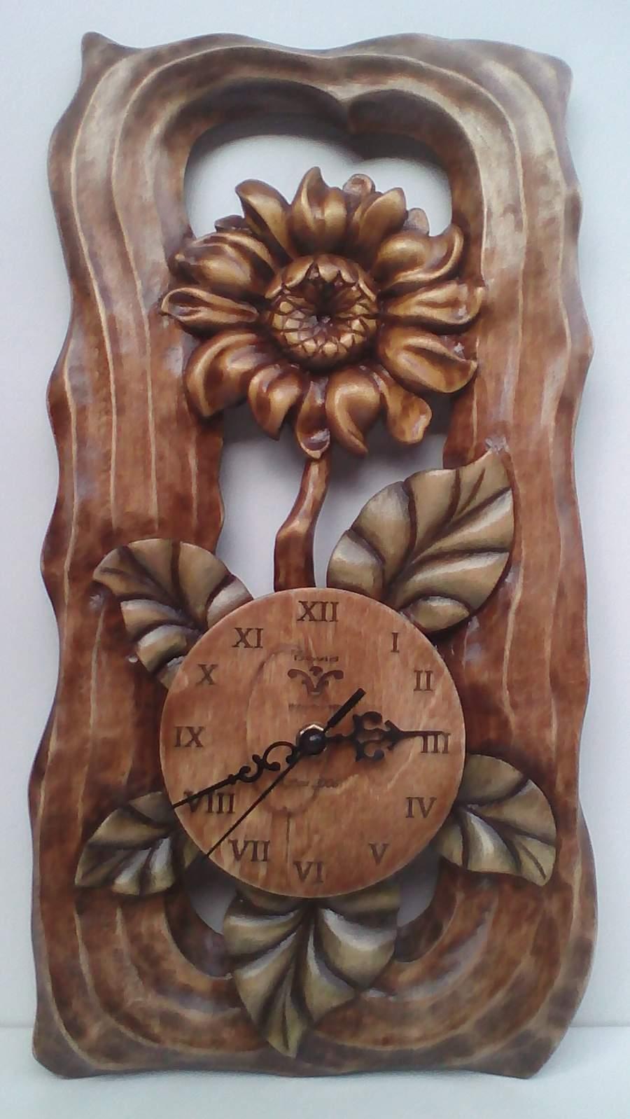 Virág óra  ( Napraforgó )